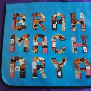 Lululemon Large Blue BRAHMACHARYAShopping Bag.
